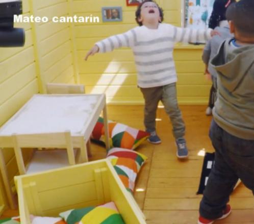 La vida secreta de los niños: Mateo cantarín