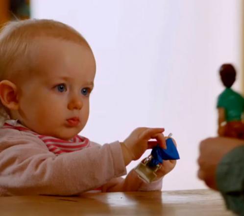 ¿Cómo perciben los bebés los roles de género?