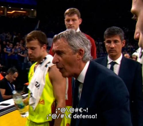 'Espiamos' a los entrenadores de la ACB: ¿qué dicen en los descansos?