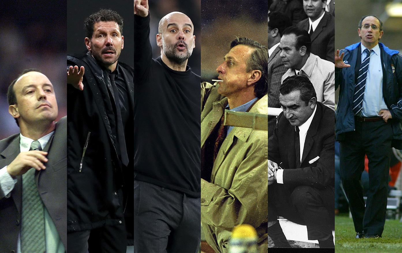 Seis entrenadores que han convertido el fútbol en un verdadero espectáculo