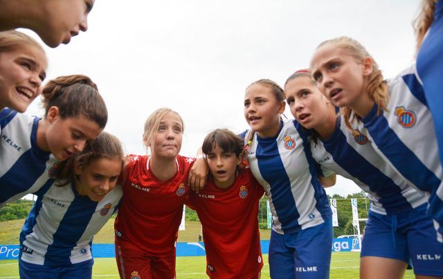 Las promesas del fútbol femenino se reúnen en La Coruña