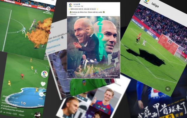 Los 100 millones de seguidores que han viralizado el fútbol español