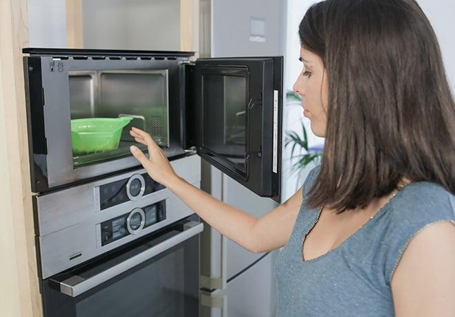 Fácil y rápido: menú completo al microondas