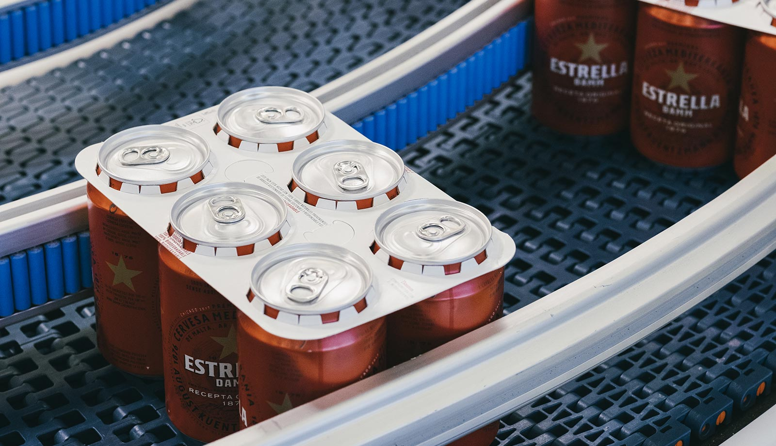 Adiós a las anillas de plástico de los packs de latas