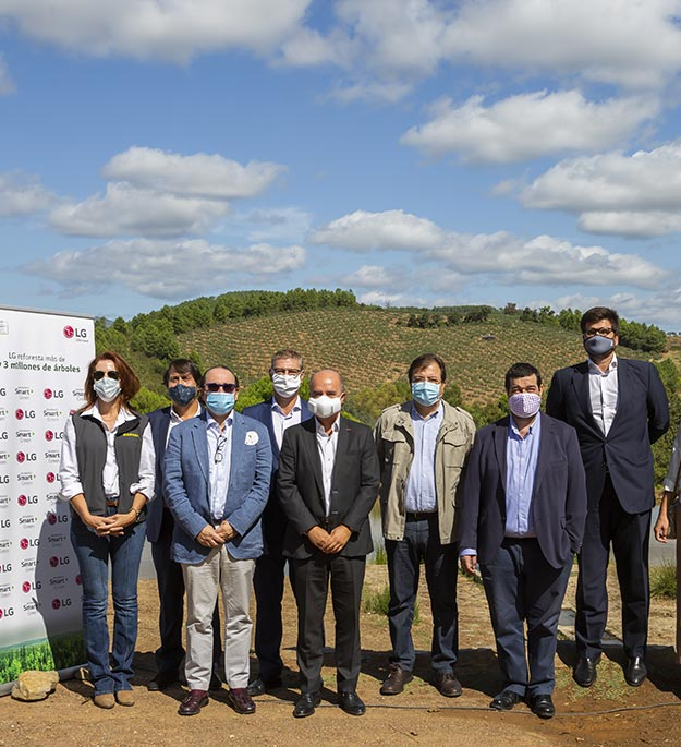 'Smart Greeners': empresas y entidades que se únen para cambiar el mundo reforestando
