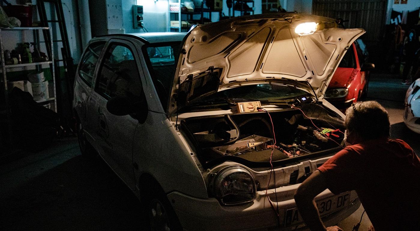Un coche viejo para un futuro verde