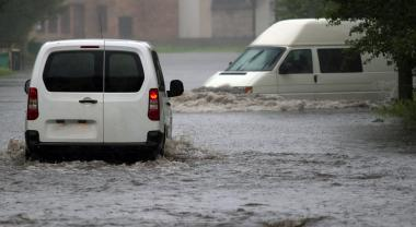 Más inundaciones, menos acceso al agua