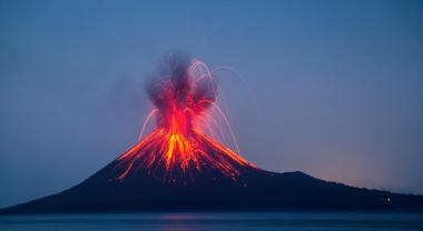 Volcanes, el termostato del planeta