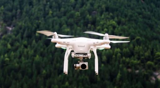 Drones que vuelan hacia la sostenibilidad