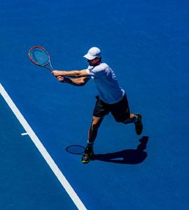 Estas son las lesiones más frecuentes de los tenistas