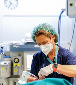 Sanitarias en el centro de la pandemia