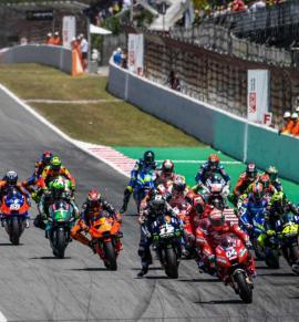 El Mundial de MotoGP vuelve a Barcelona con la salud de hierro