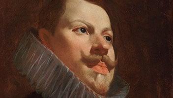 El retrato de Felipe III rescatado