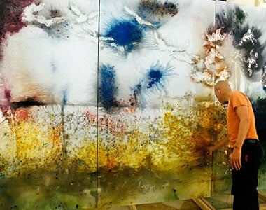 Cai Guo-Qiang, work in progress