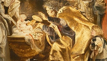 Los bocetos de Rubens, al descubierto