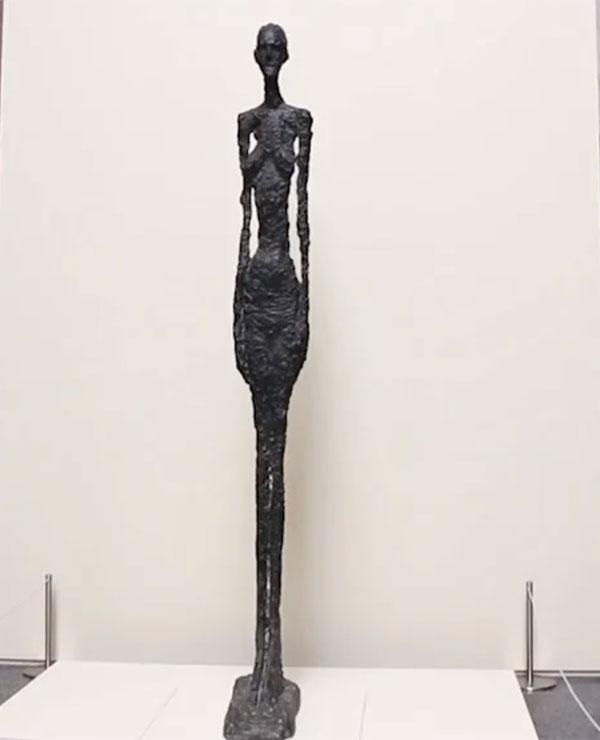 La figura humana a través de los ojos de Giacometti