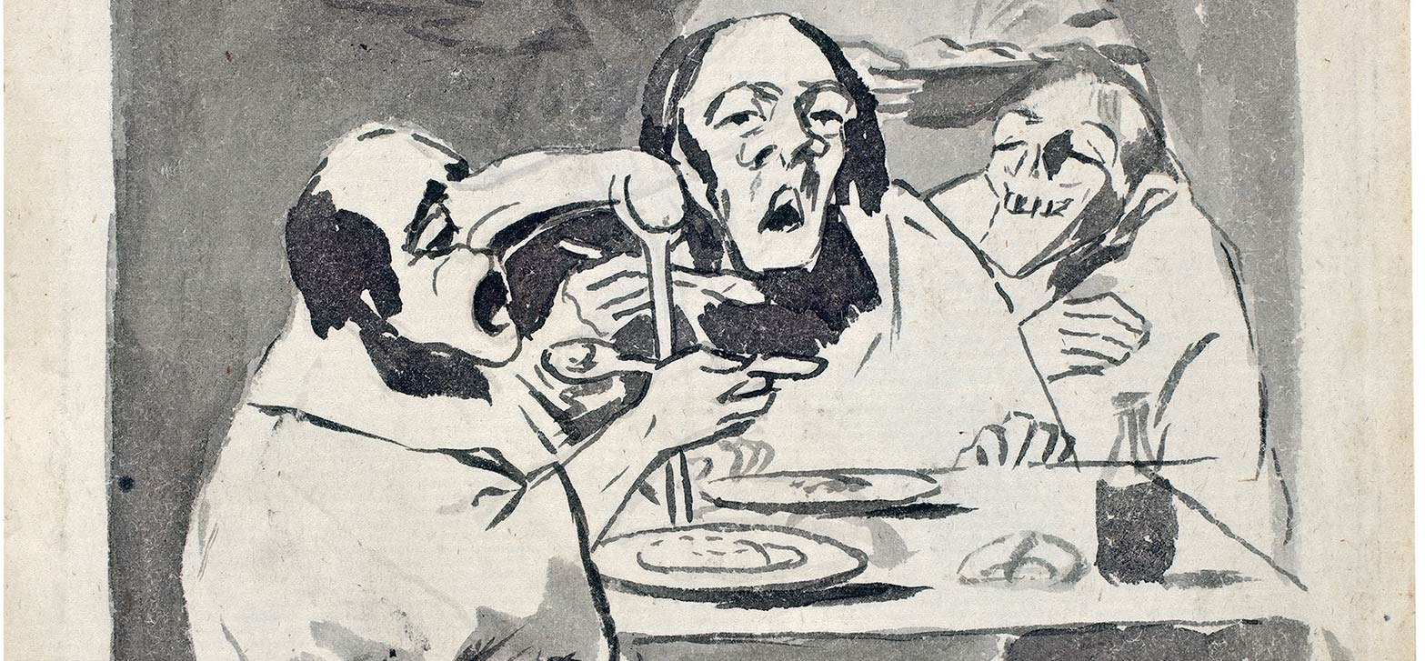 Trazos de Goya