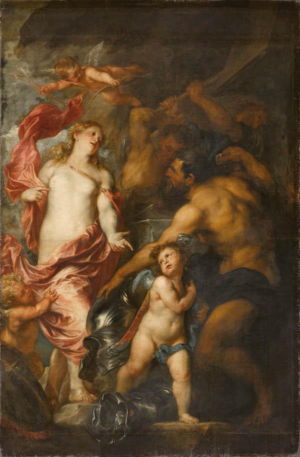 Venus en la fragua de Vulcano, Van Dyck