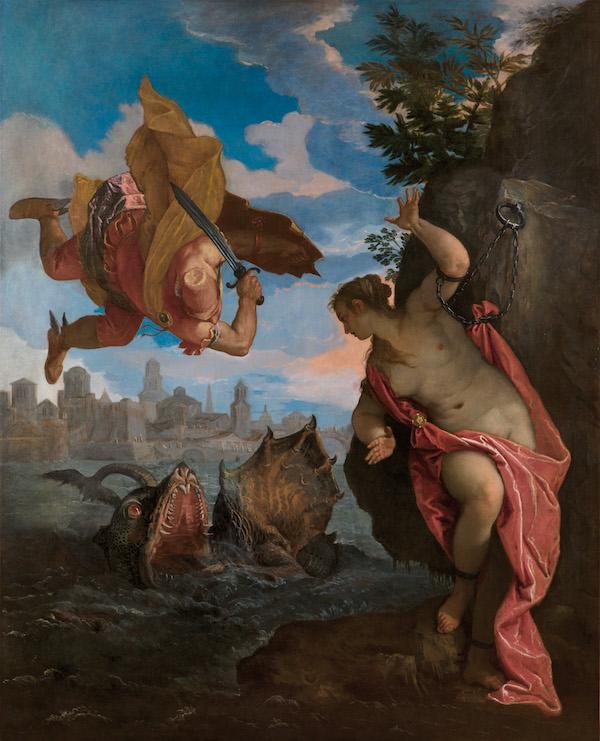 Perseo y Andromeda, Veronese
