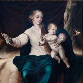 Virgen del pajarito