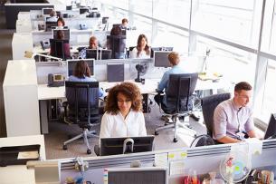 Claves para sentarse correctamente en el trabajo
