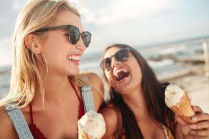 Por qué comer helado también puede ser saludable