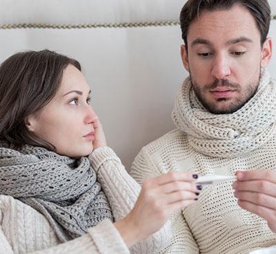 ¿Son las mujeres menos propensas a contraer gripe?